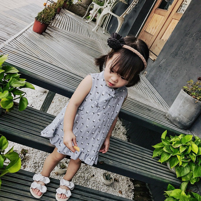1-4Y Girls Cheongsam Dress A200C17B