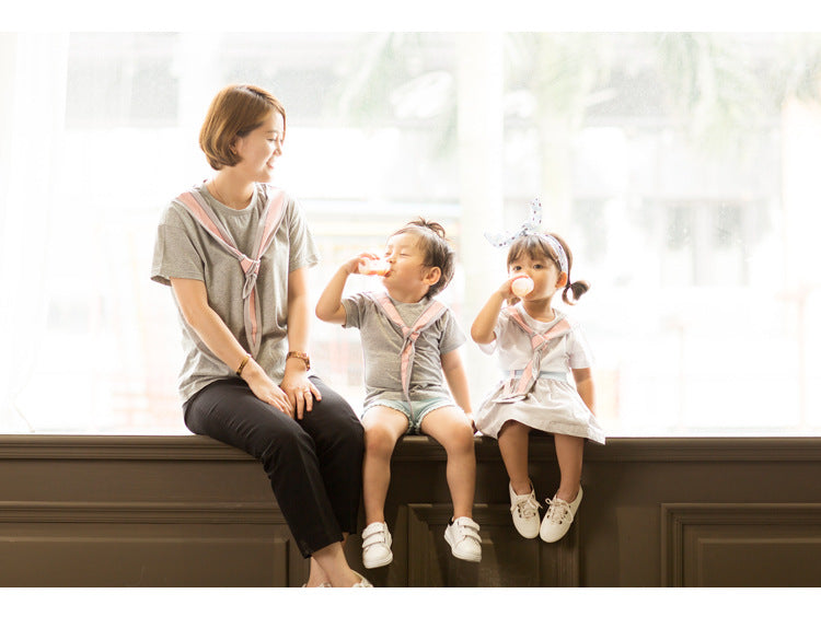 Mother and Kids Bunny Tops F121W/ F121G