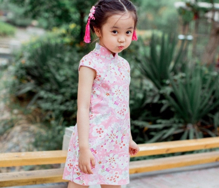 1-8Y Girls Cheongsam Dress A200C18F
