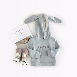 1-3Y Boys Long-Sleeve Bunny Sweater A108F