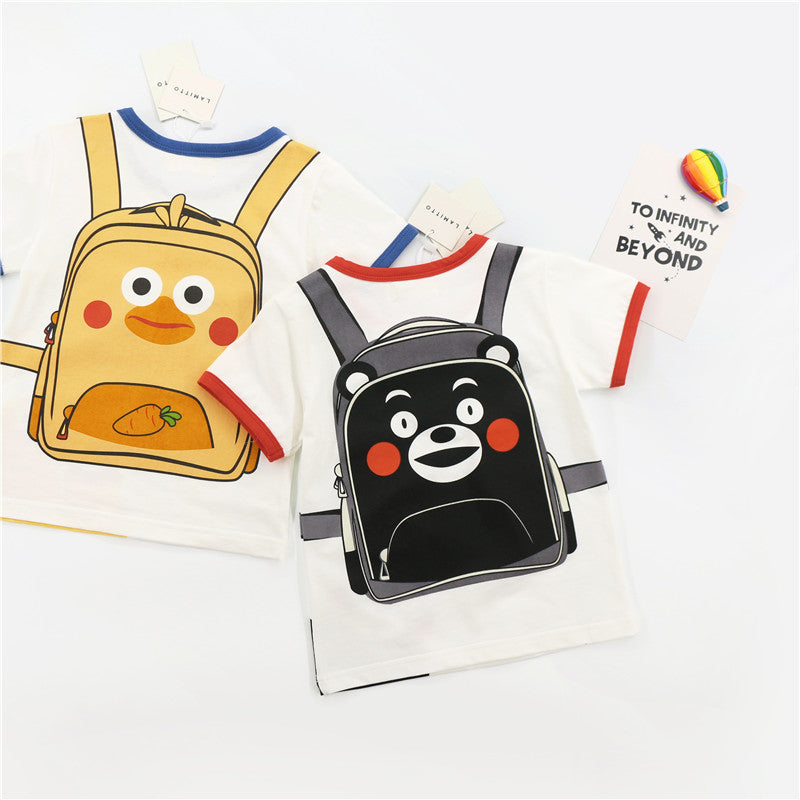 1-8Y Kids Backpack Shirt A10411C