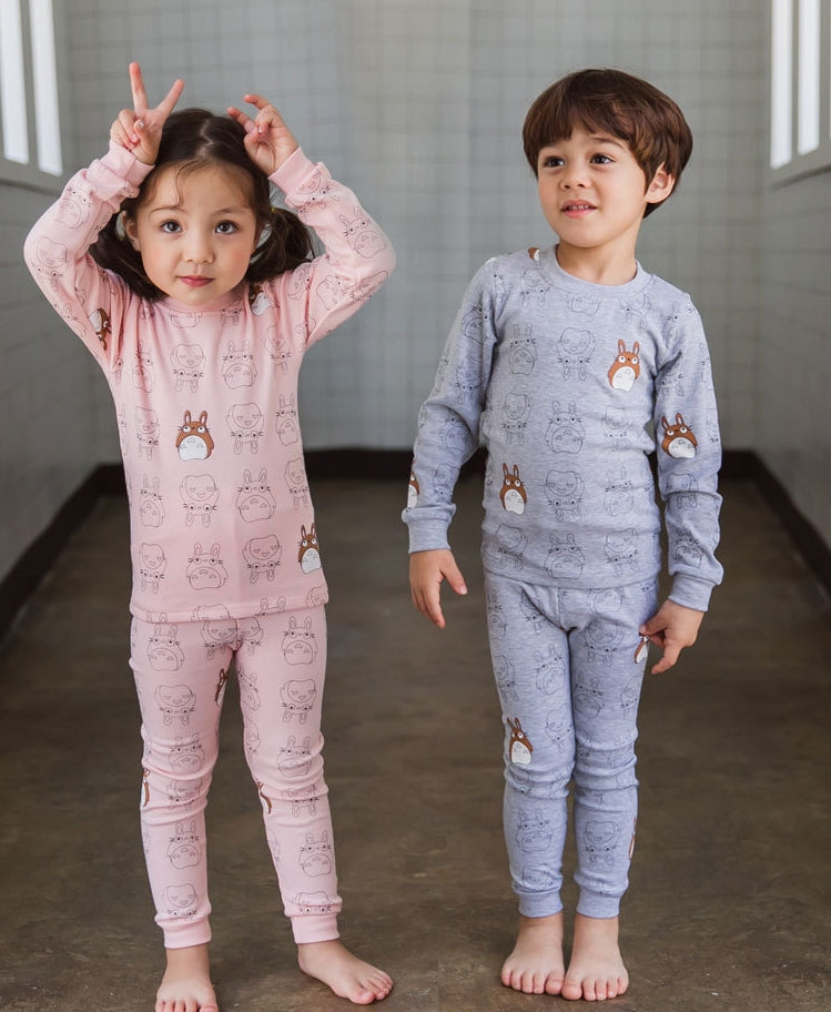 1-6Y Kids Pyjamas 2pcs Set by Korea MILKIDS A4042J