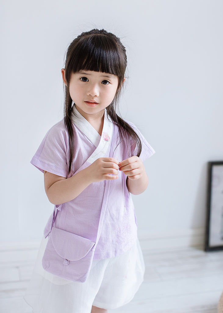 1-6Y Girls Cheongsam Top A200C21M (Mother Sizes Available)
