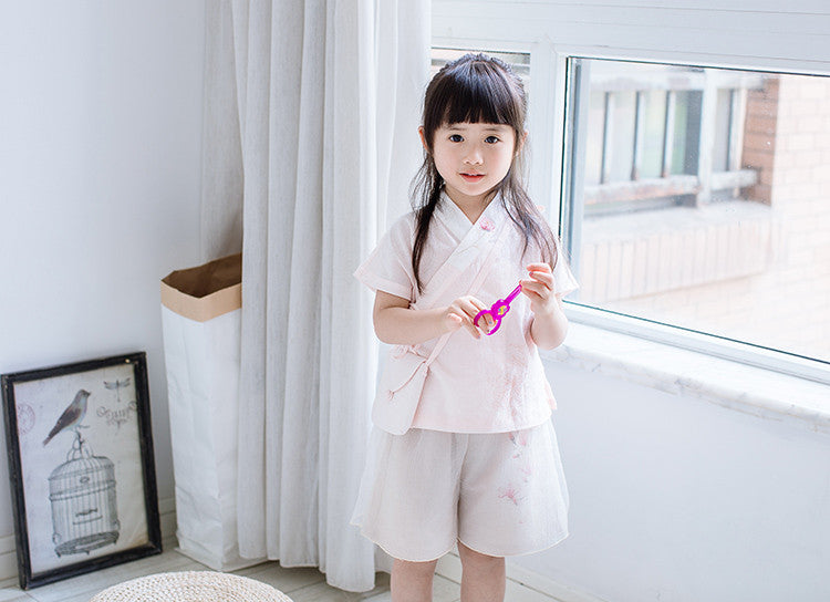 1-6Y Girls Cheongsam Top A200C21G (Mother Sizes Available)