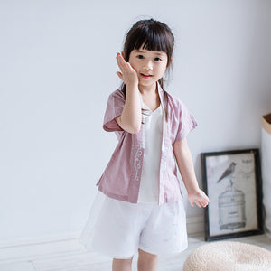 1-6Y Girls Cheongsam Top A200C21I