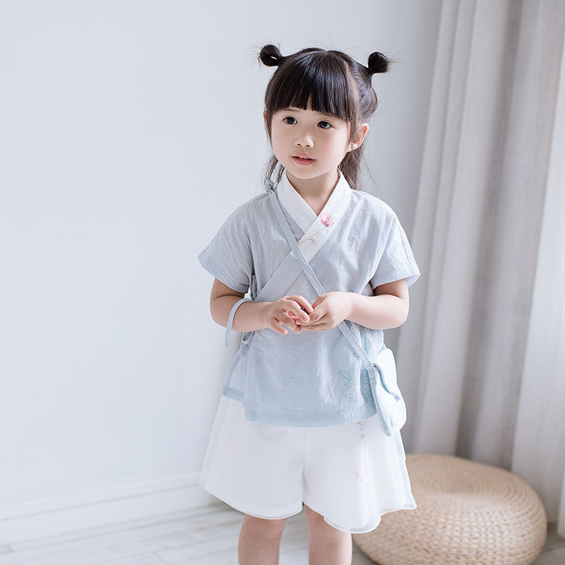 1-6Y Girls Cheongsam Top A200C21H (Mother Sizes Available)