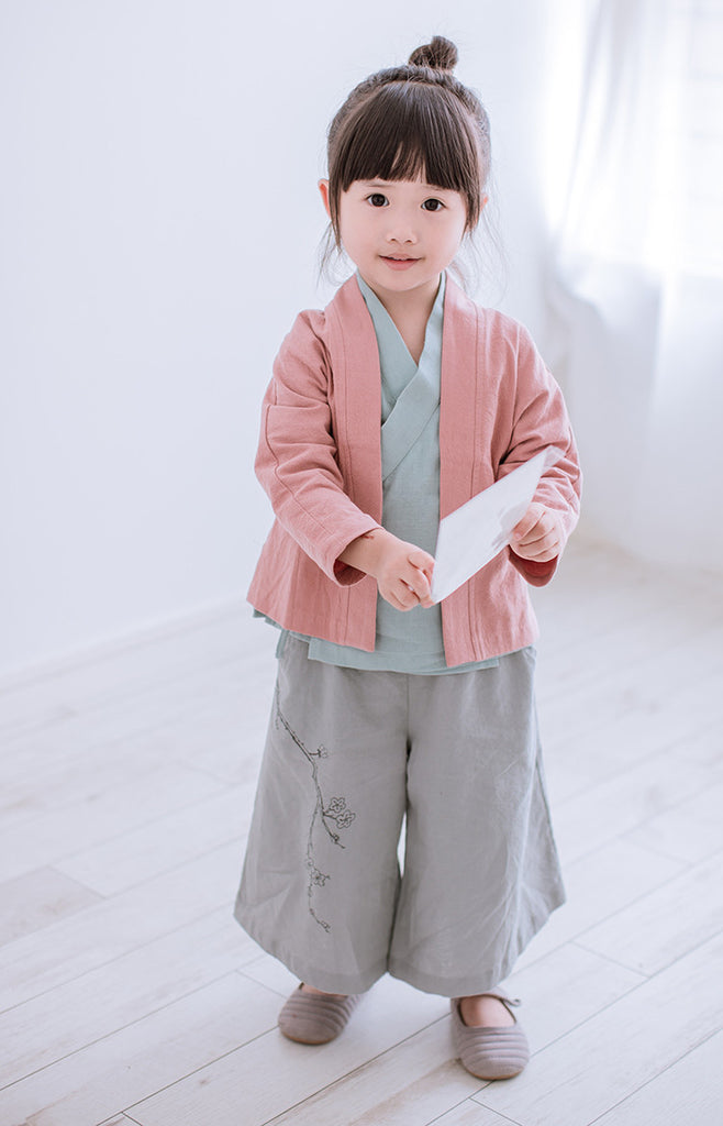 2-8Y Kids Chinese Pants A100C31F