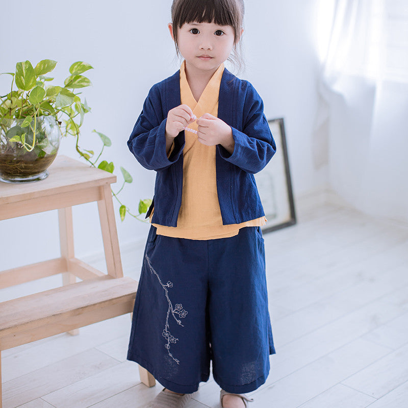 2-8Y Kids Chinese Pants A100C31G