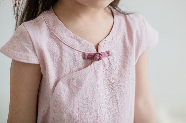 1-6Y Girls Cheongsam Top A200C21E (Mother Sizes Available)