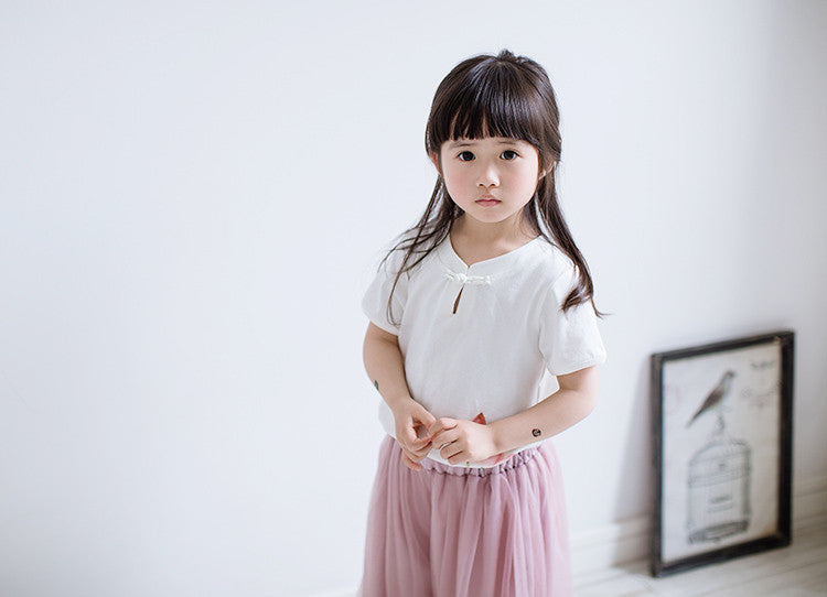 1-6Y Girls Cheongsam Top A200C21C (Mother Sizes Available)