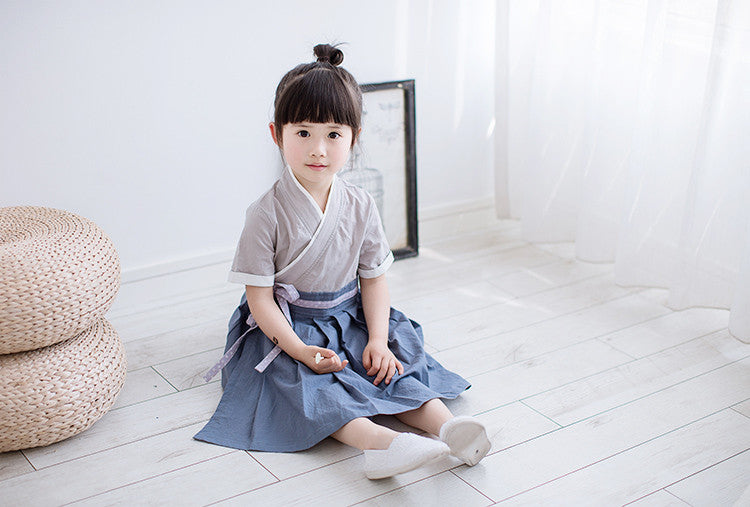 2-8Y Girls Cheongsam Dress A200C12H (Mother sizes available)