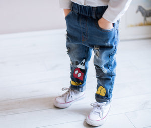 2-7Y Kids Denim Jeans A2043L