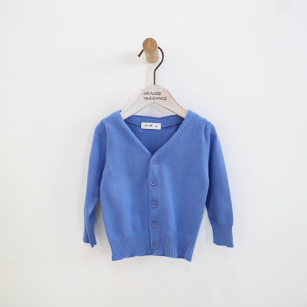 2-6Y Boys Blue Cardigan A108M