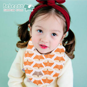 Bebezoo Bandana Drool Bib with Adjustable Snaps A321KL