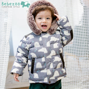 1-4Y Bebezoo Kids Winter Wear Down Jacket K5002B