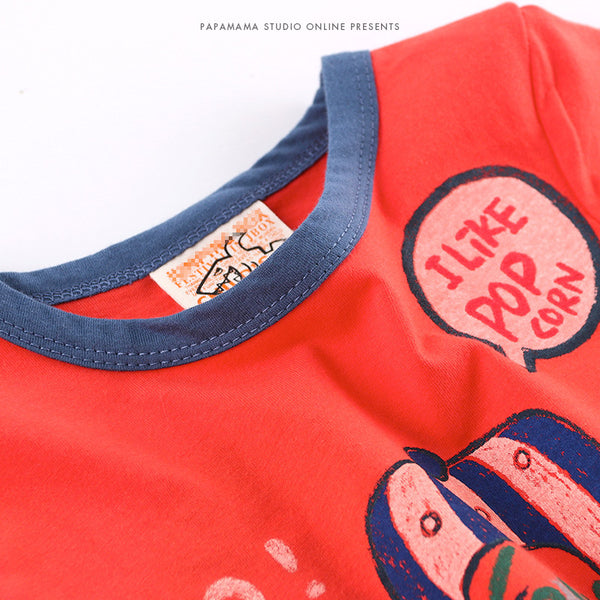 2-8Y Korea Design Boys shirt A1046C
