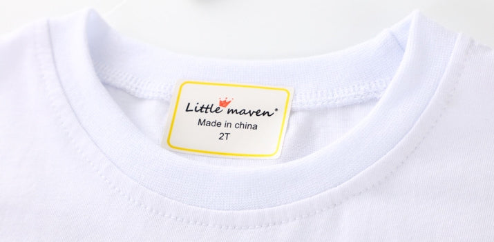 1-6Y Girls Little Maven Short-sleeve Shirts A2311C