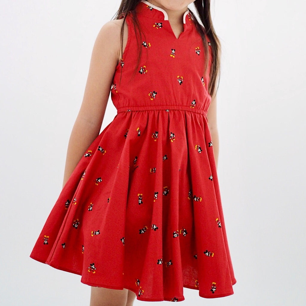 Girl Cheongsam by Korea Cottonvill fabric A200CEE014A
