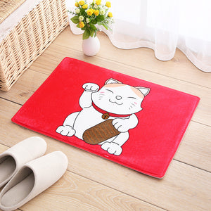 Lucky Cat Door Mat H823A