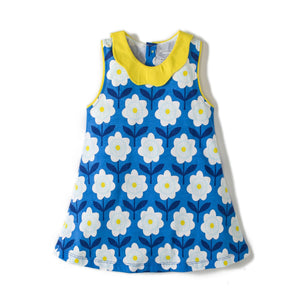 2-8Y Girls Little Bitty Flower Dress A2017H