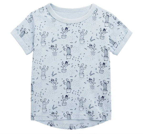 2-7Y Boys Short Sleeve T-Shirt A10421B