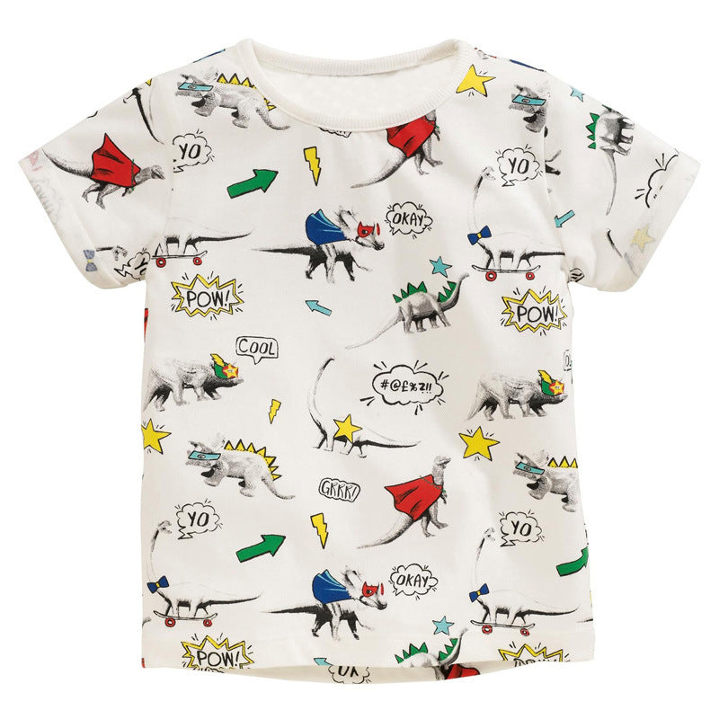 2-7Y Boys Short Sleeve T-Shirt A10421C