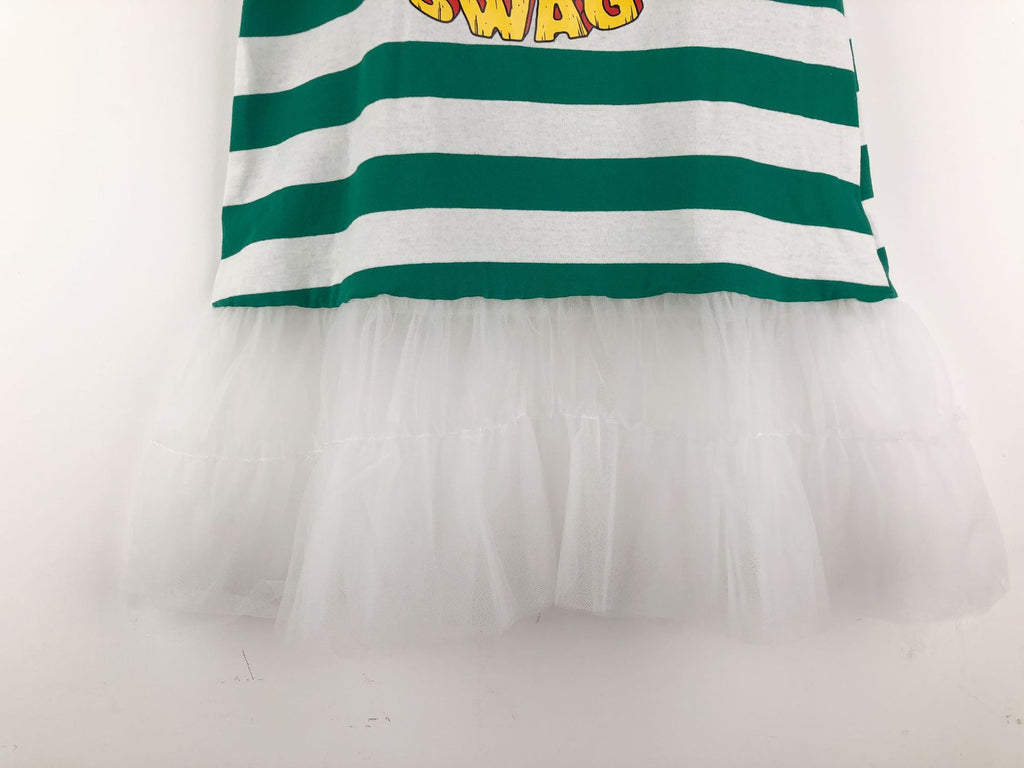 3-15Y Girls Stripes Tulle Dress G21033B (Mother sizes available)