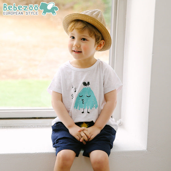 1-6Y Bebezoo Boys Short Pants K1013H