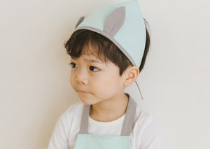 2-6Y Kids Bebezoo Apron and Hat 2pcs Set K10611C