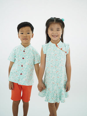 Girl Cheongsam by Korea Chungage fabric A200CEE014E
