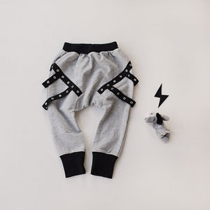 1-4Y Toddlers Kids Hip-hop Harem Pants A1034I