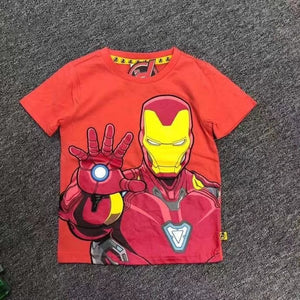 Iron Man Superhero T-shirt A10432E