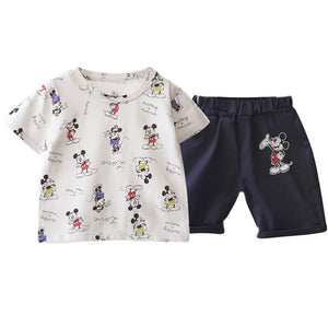Boys Top and Bottom 2pcs Set A1051E