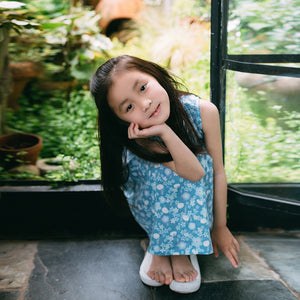 2-8Y Girls Cheongsam Flare Dress A200C11M