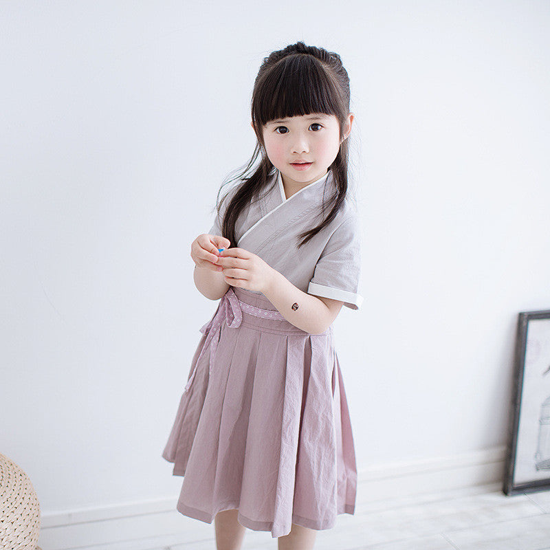 2-8Y Girls Cheongsam Dress A200C12G (Mother sizes available)