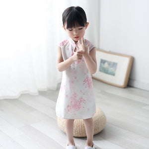 2-8Y Girls Cheongsam Dress with Lining A200C13B