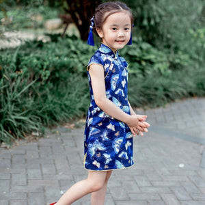1-8Y Girls Cheongsam Dress A200C18D
