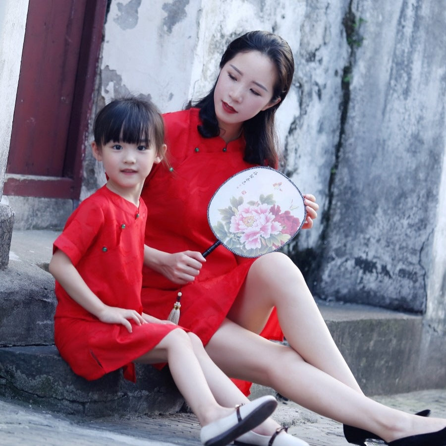 1-8Y Girls Cheongsam Dress A200C18N