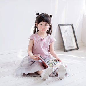 1-6Y Girls Cheongsam Top A200C21E
