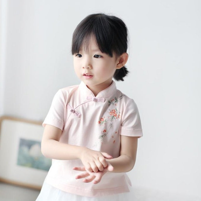 1-6Y Girls Cheongsam Top A200C22A