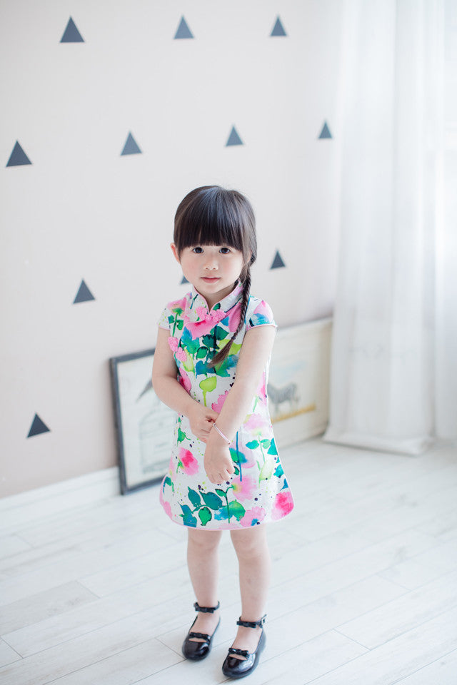 2-8Y Girls Cheongsam Dress A200C11G