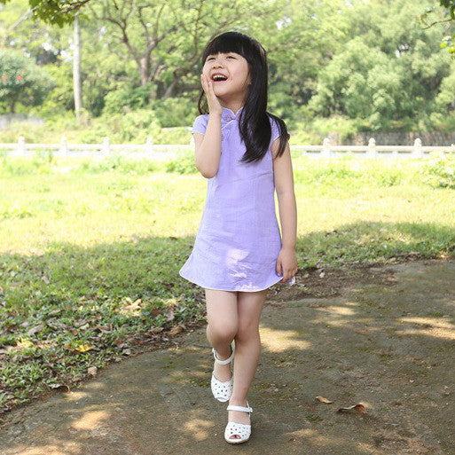 3-10Y Girls Cheongsam Dress A200C61M