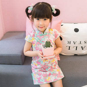 2-8Y Girls Melody Cheongsam Dress A200C63F