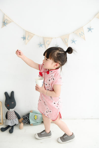 1-4Y Girls Cheongsam Dress Kids Cheongsams A200N