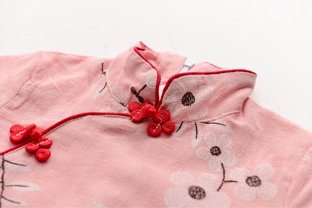 2-6Y Girls Cheongsam Dress Kids Cheongsams A200C19J