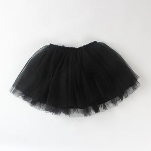 1-4Y Baby Girls Black Tutu Skirt A204C