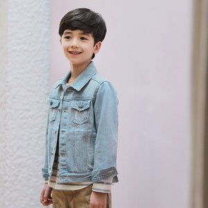 2-8Y Kids Denim Jeans Jacket A2085E