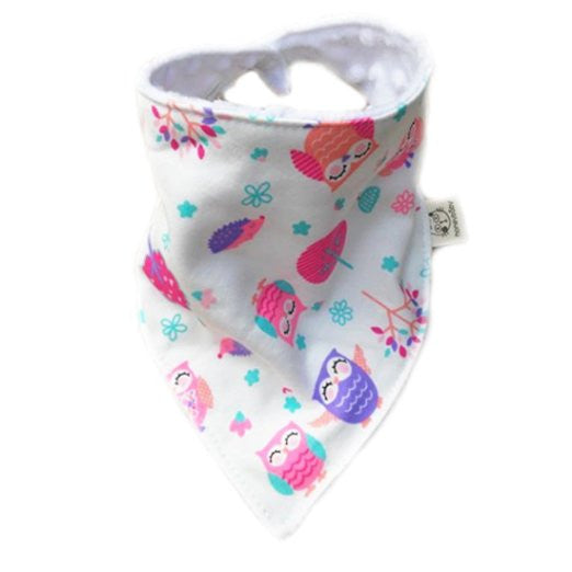 Love Baby Handmade Baby Bandana Drool Bib with Adjustable Snaps A321EK