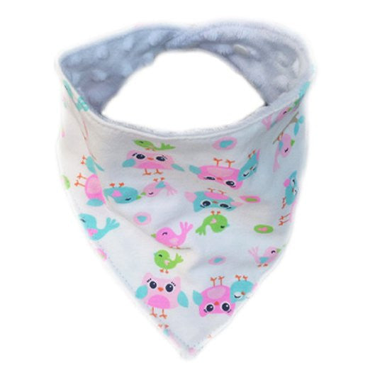 Love Baby Handmade Baby Bandana Drool Bib with Adjustable Snaps A321EL