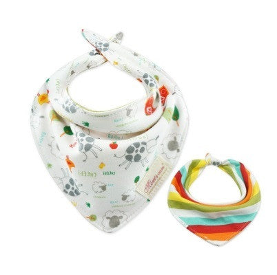 Baby Bandana Drool Mom's Care Reversible Bibs A321IC